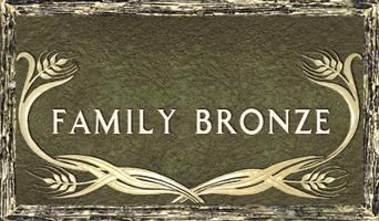 family bronze custom bronze cemetery markers plaques